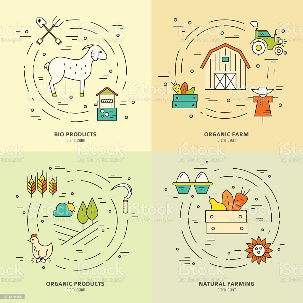 Agriculture Cycle vector art illustration