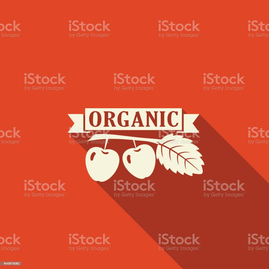 Agriculture Farming Flat Color Long Shadow Icons vector art illustration
