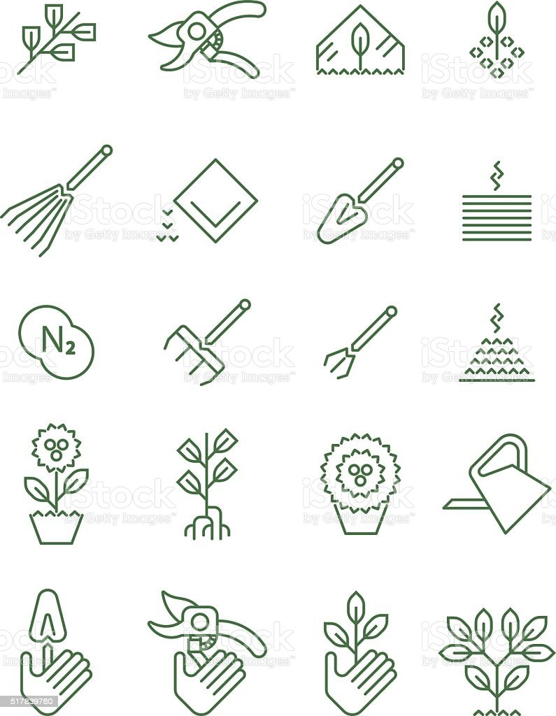 Agriculture icon vector art illustration