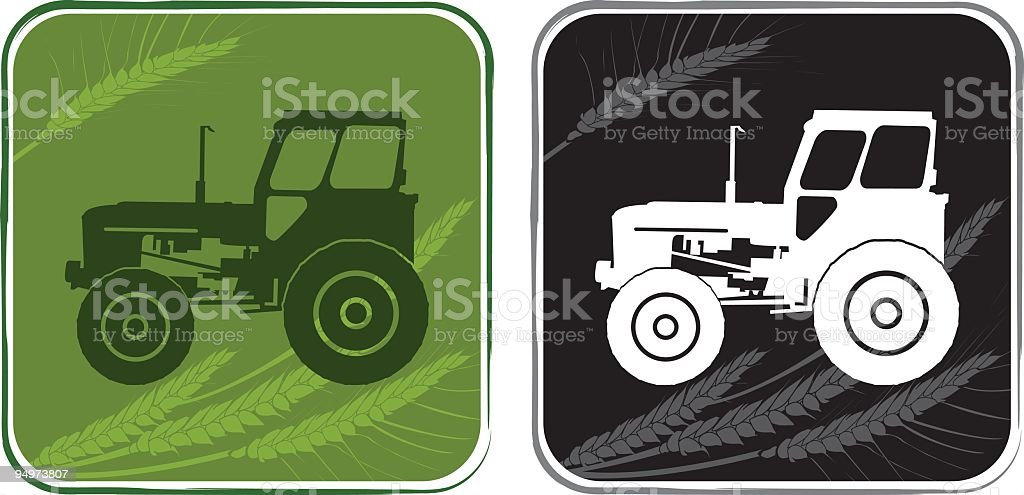 Agriculture icon royalty-free stock vector art