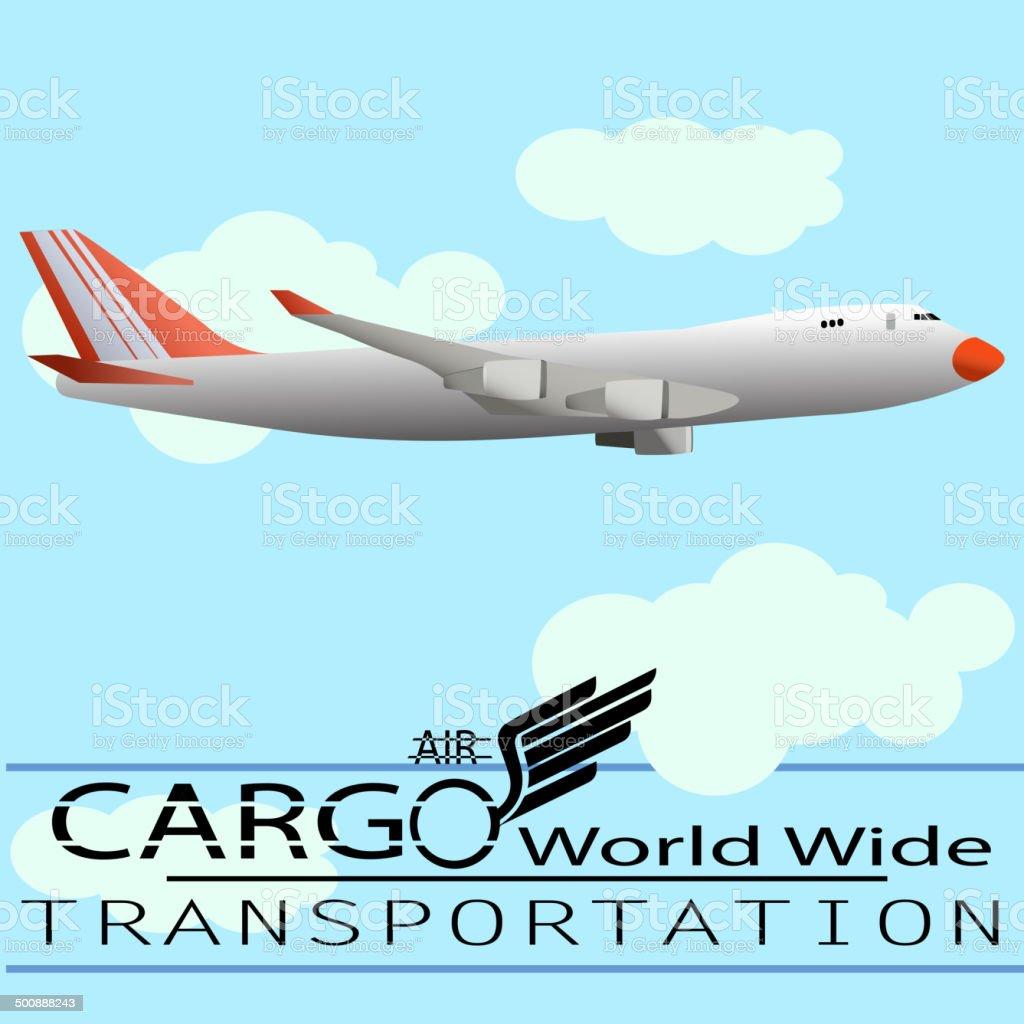 Air Cargo royalty-free stock vector art