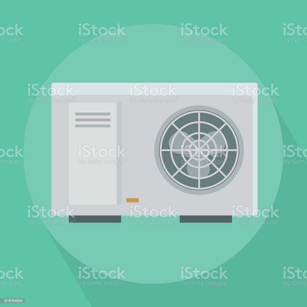 Air Conditioner vector art illustration
