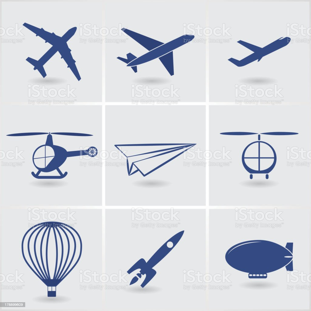 air transport royalty-free stock vector art