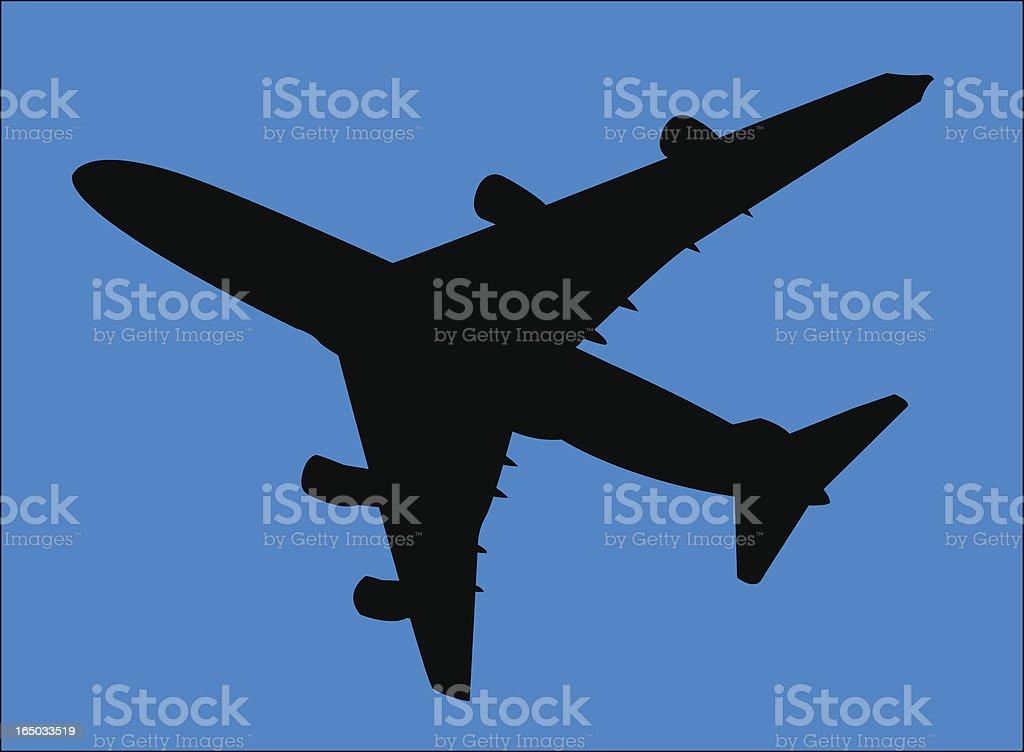 Airplane ( Vector ) royalty-free stock vector art