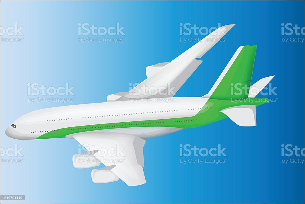 Avion illustration vectorielle stock vecteur libres de droits libre de droits