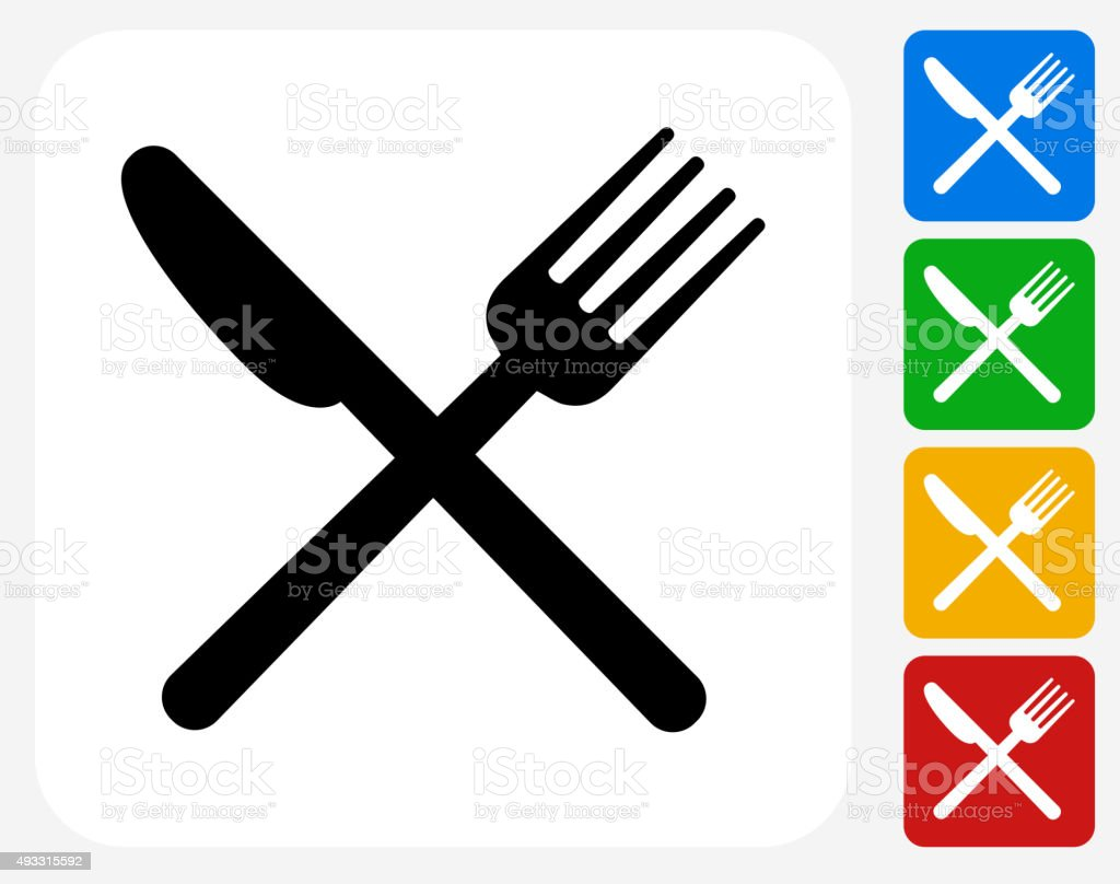 Airport Cafe Icon Flat Graphic Design vector art illustration