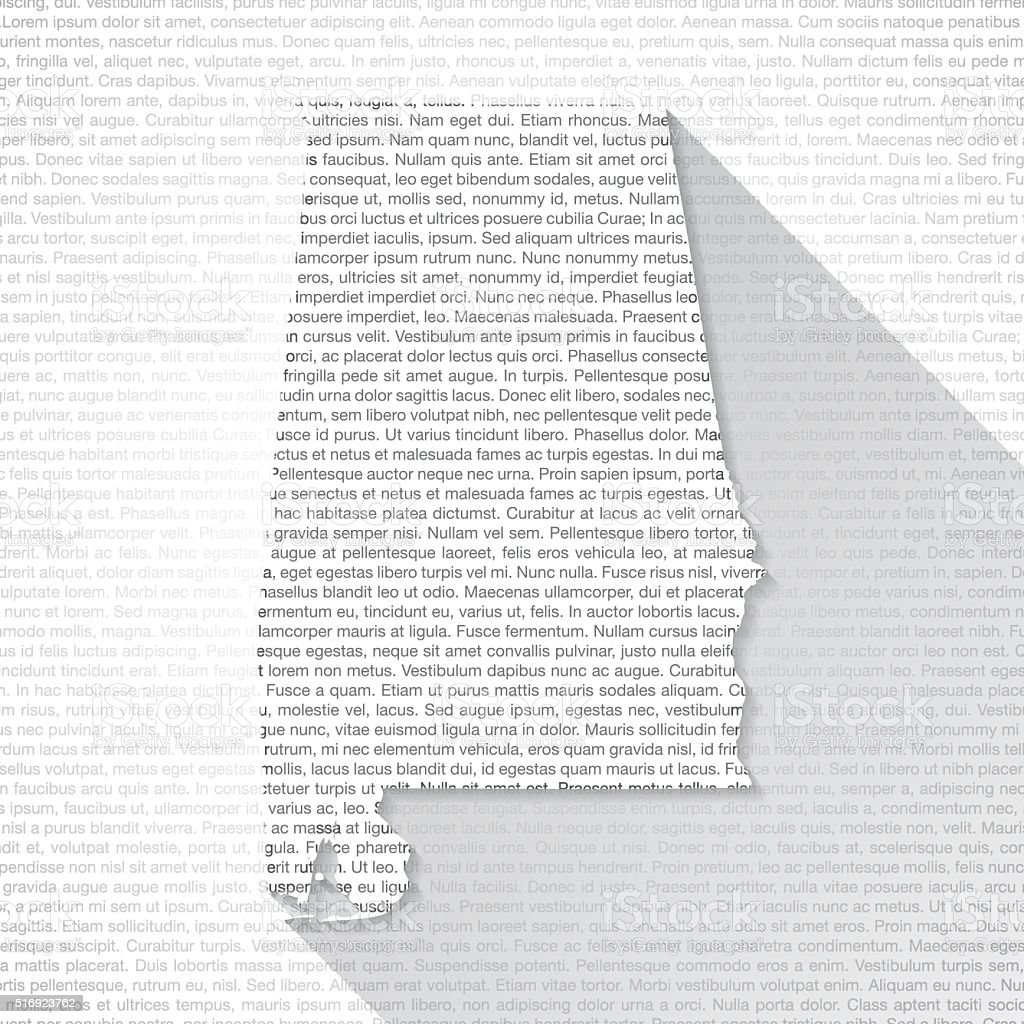 Alabama Map on Text Background - Long Shadow vector art illustration