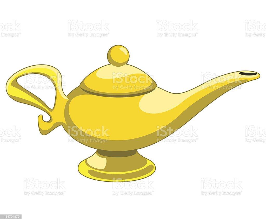 aladdin's lamp royalty-free stock vector art
