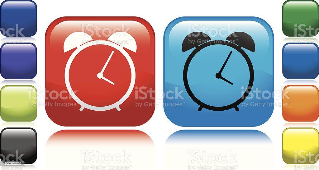 Alarm Clock Icon royalty-free stock vector art