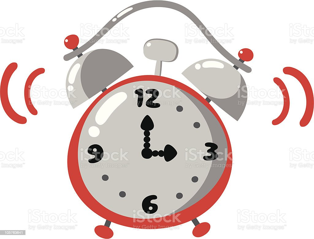 alarm clock royalty-free stock vector art