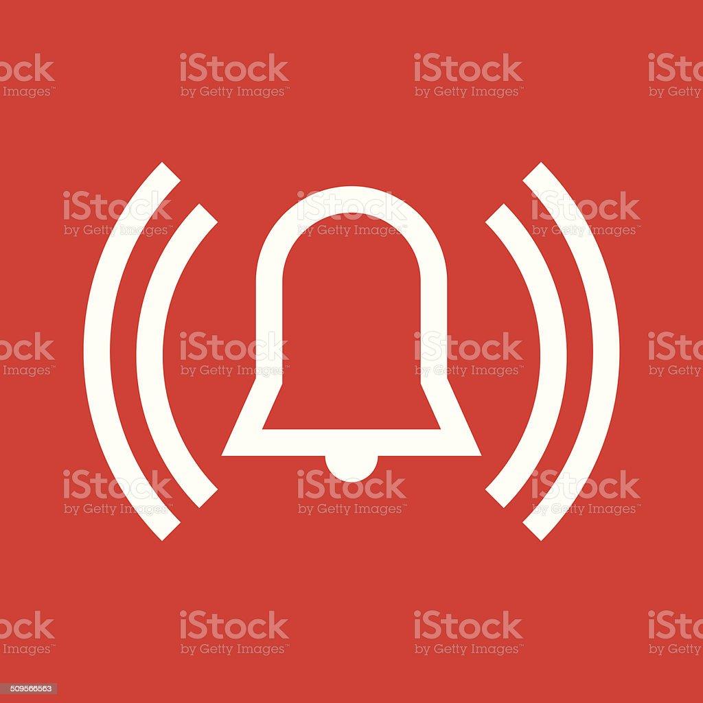 Alarm icon royalty-free stock vector art