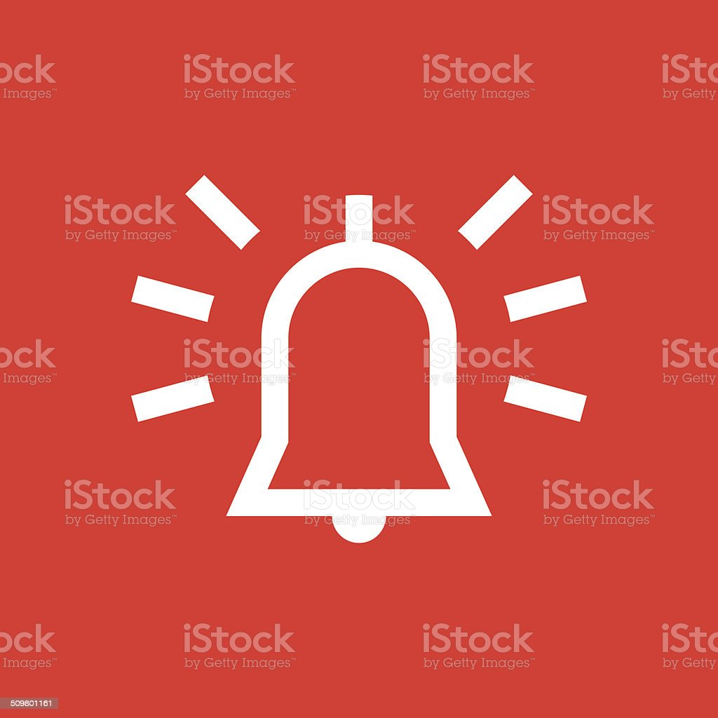 Alarm icon vector art illustration