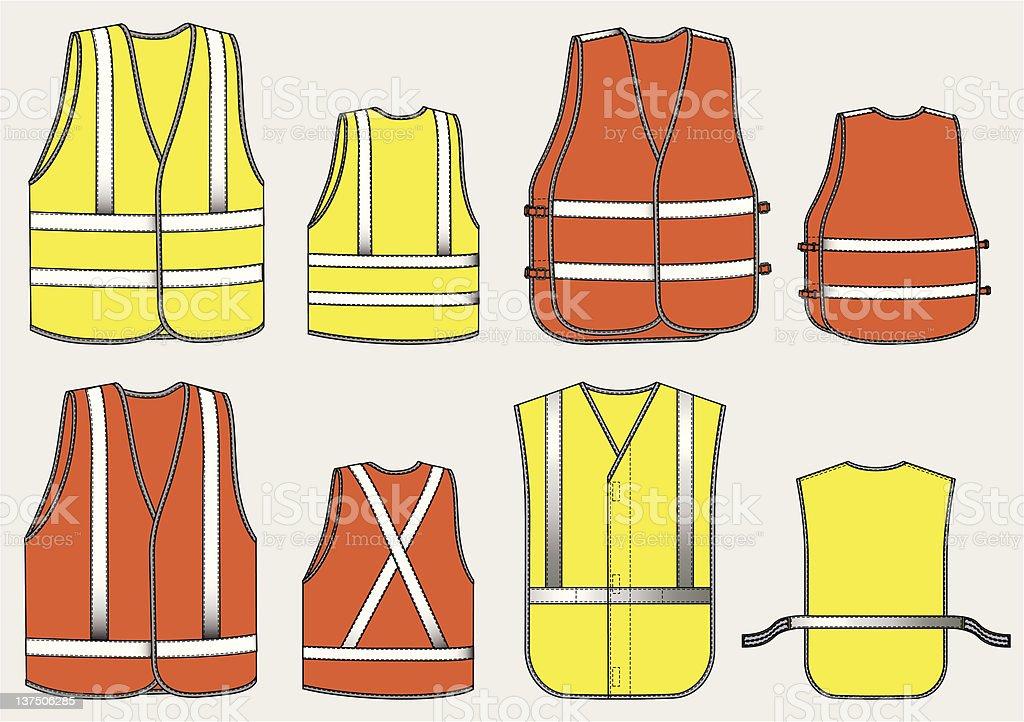 Alarm waistcoat stock photo