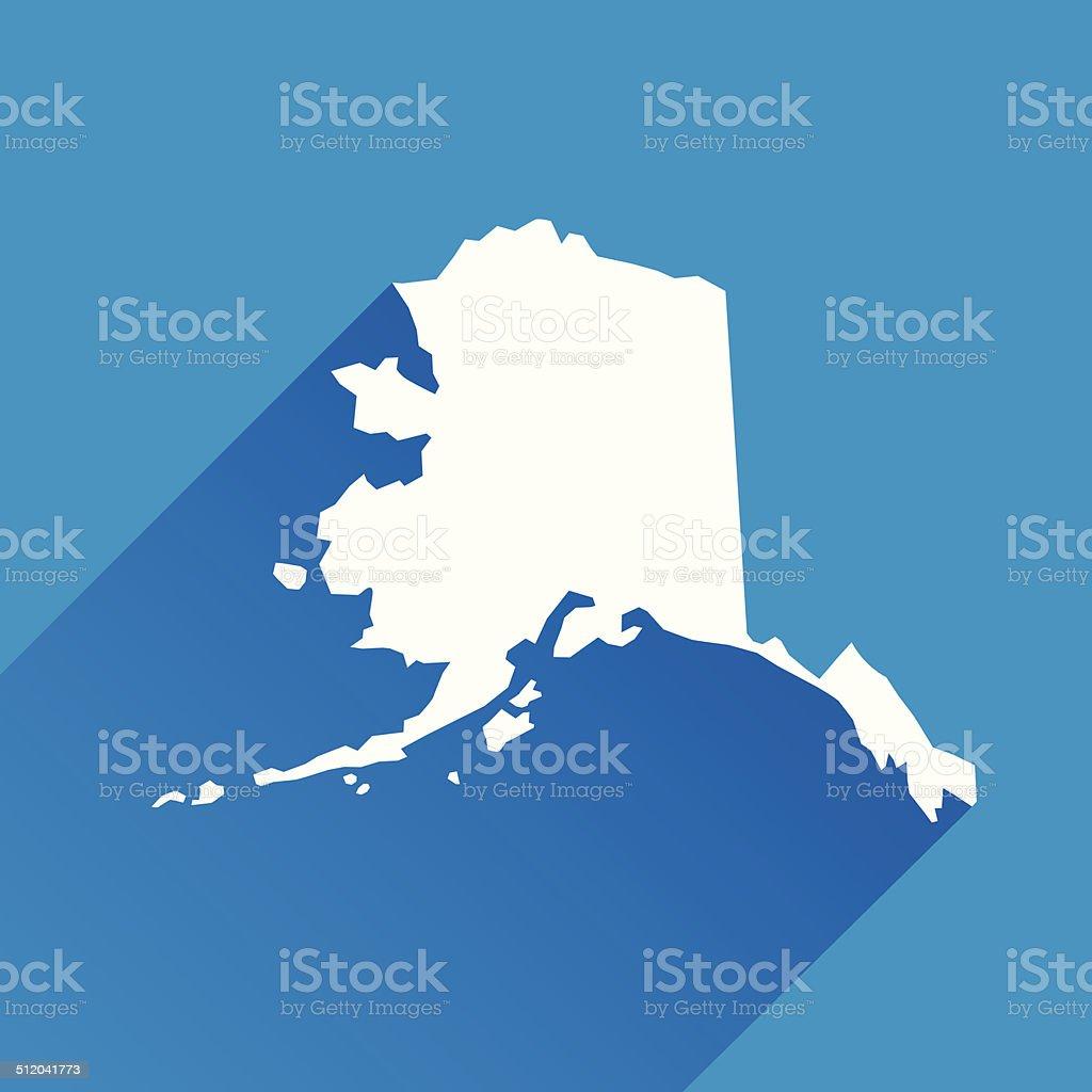 Alaska Icon vector art illustration