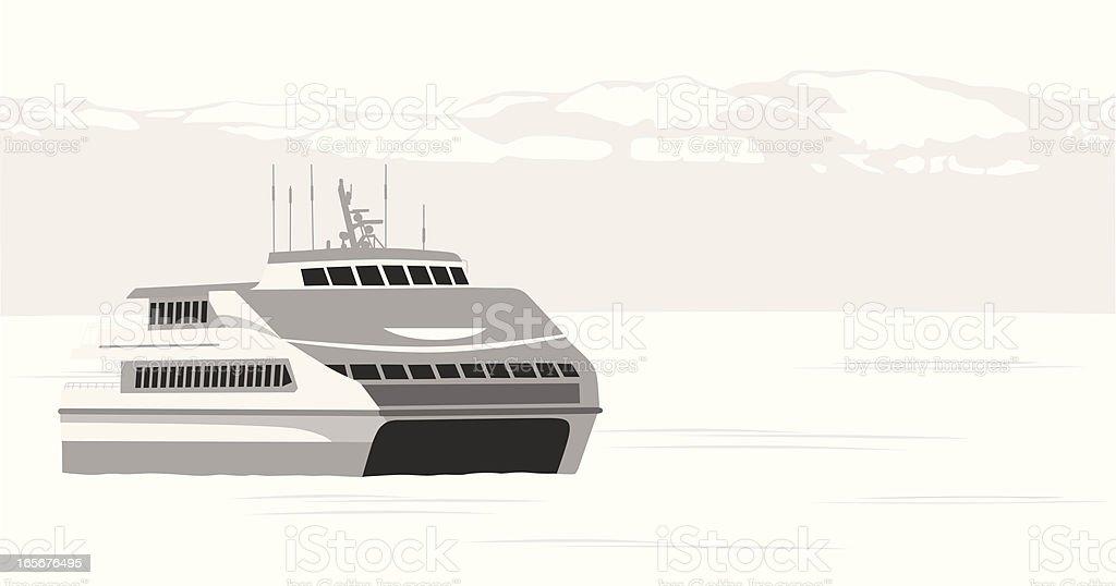Alaskan Vector Silhouette royalty-free stock vector art