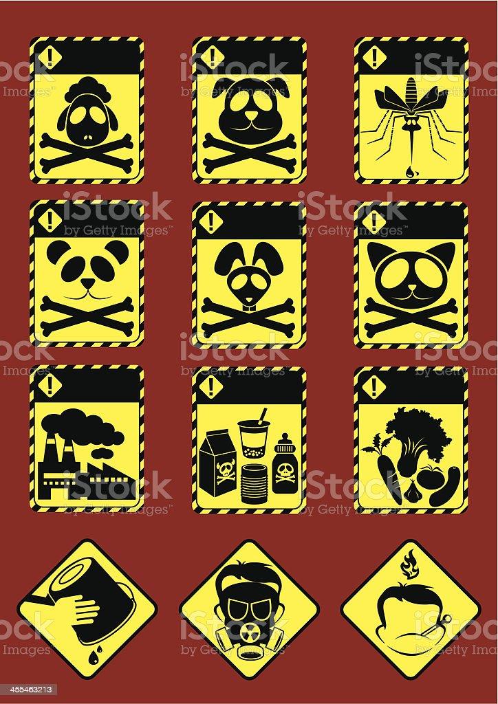 Alert! vector art illustration