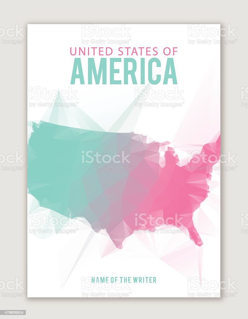 All about USA vector art illustration