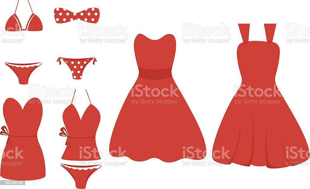 All Red! royalty-free stock vector art