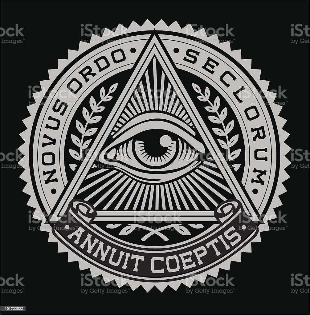Символ всевидящее око на росписях и иконах в христианских храмах
