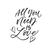 All you need is love card.