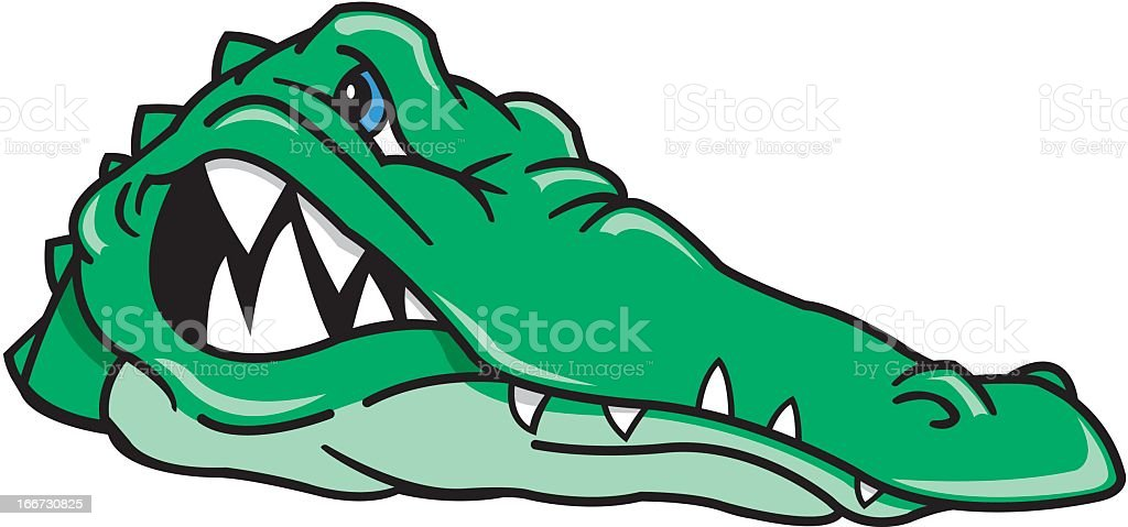 Alligator royalty-free stock vector art