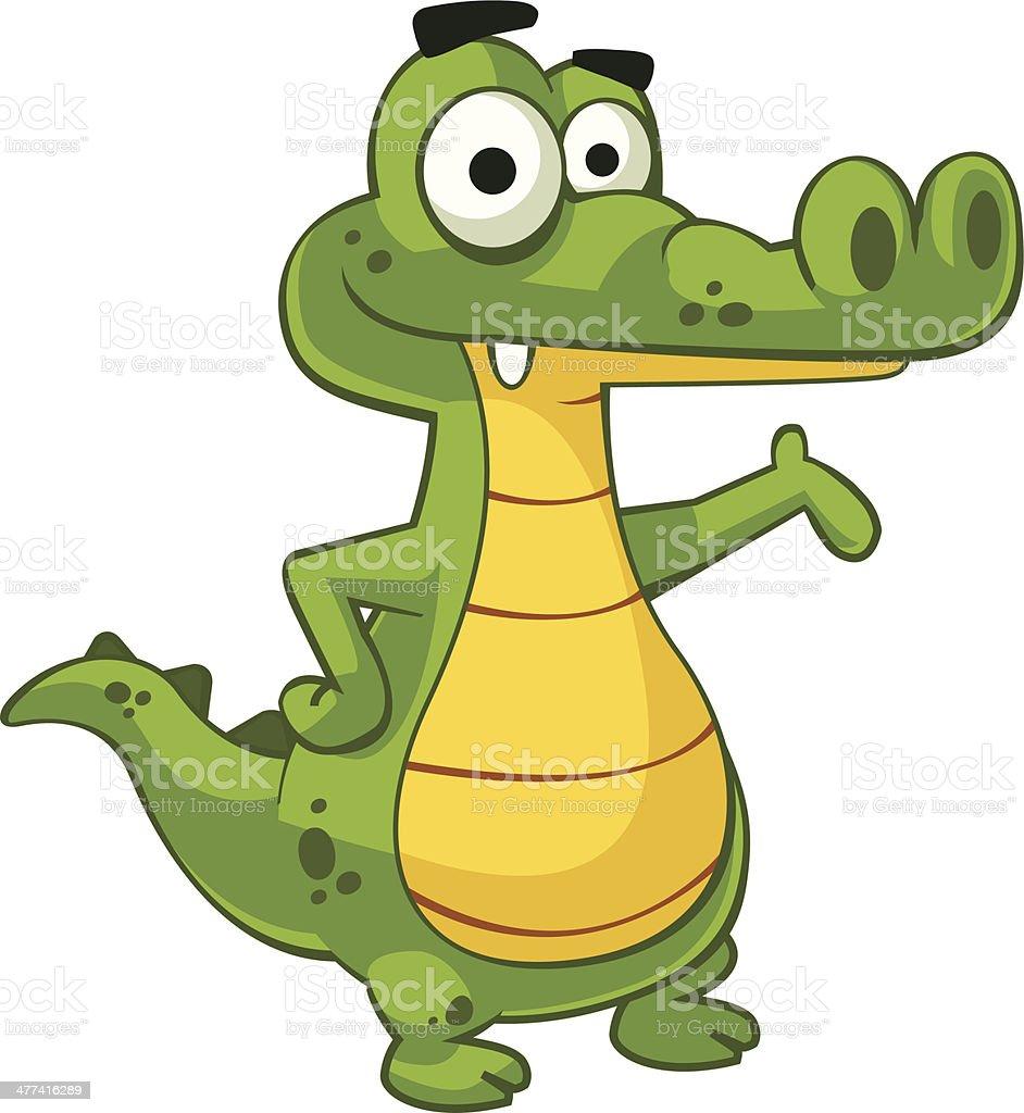 Alligator royalty-free stock vector art