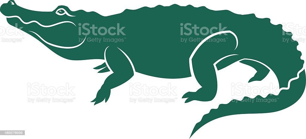 alligator vector art illustration