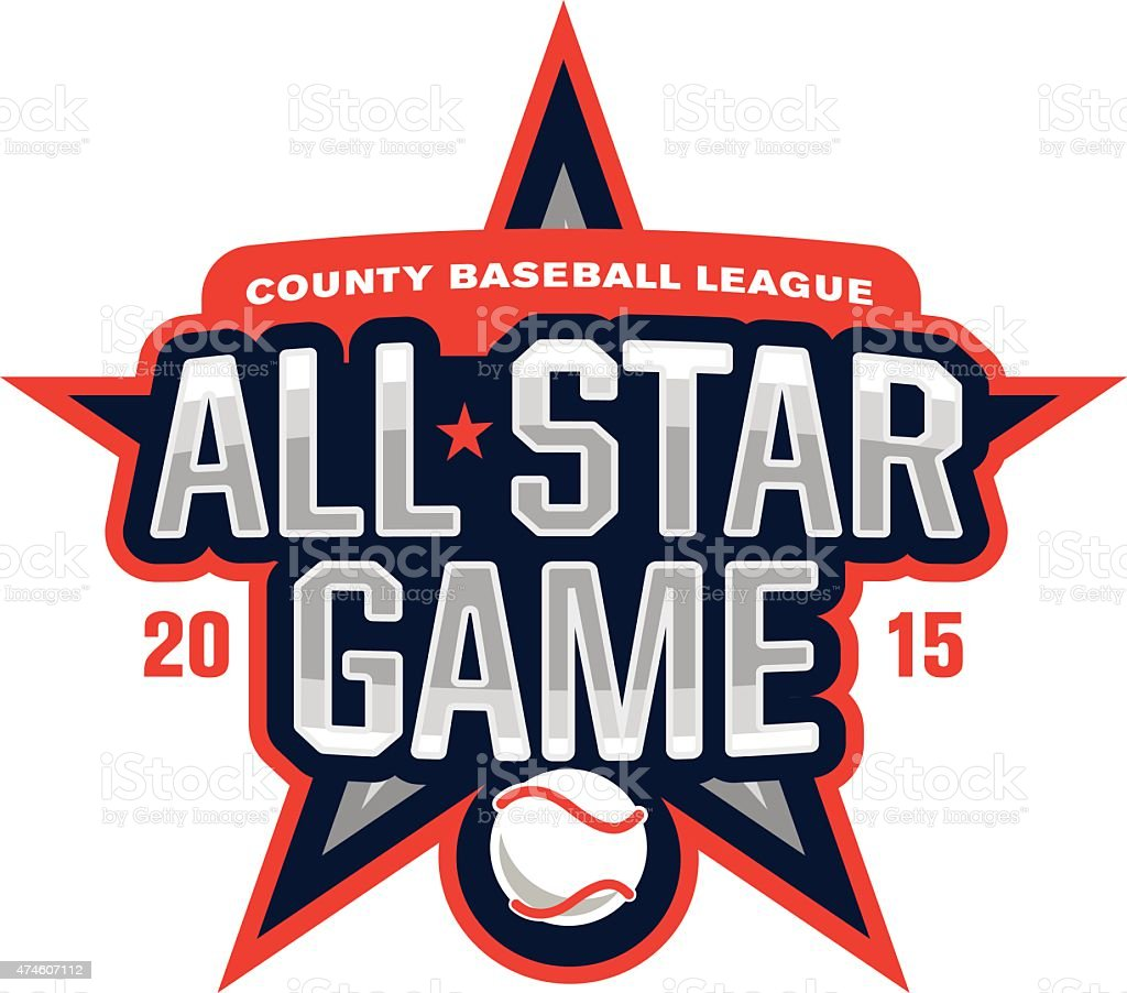 All-Star Game vector art illustration