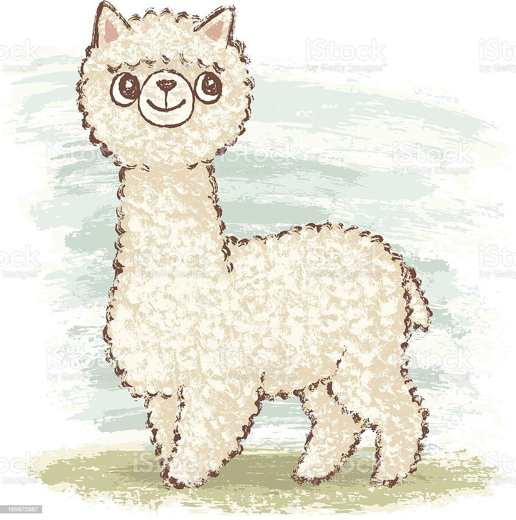 Alpaca stock vector art 165975382 | iStock