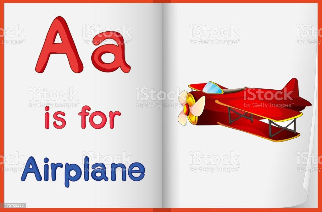 Alphabet worksheet royalty-free stock vector art