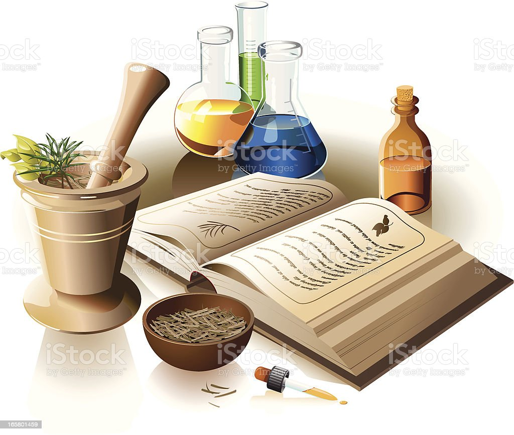 Alternative Medicine royalty-free stock vector art