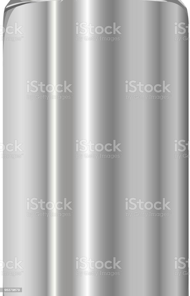 Aluminum jar royalty-free stock vector art