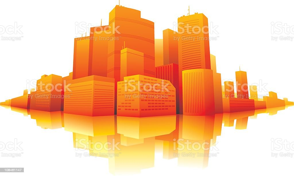 Amazing City royalty-free stock vector art