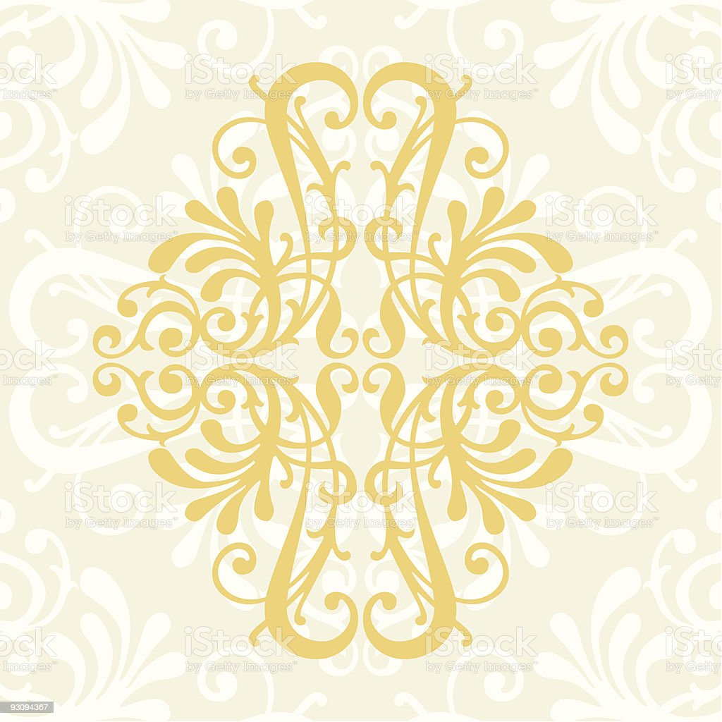 amazing floral vector decoration background royalty-free stock vector art