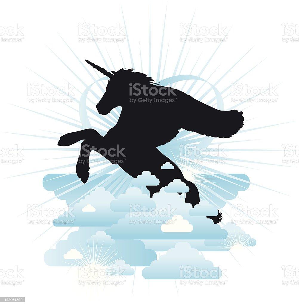 Amazing Unicorn royalty-free stock vector art