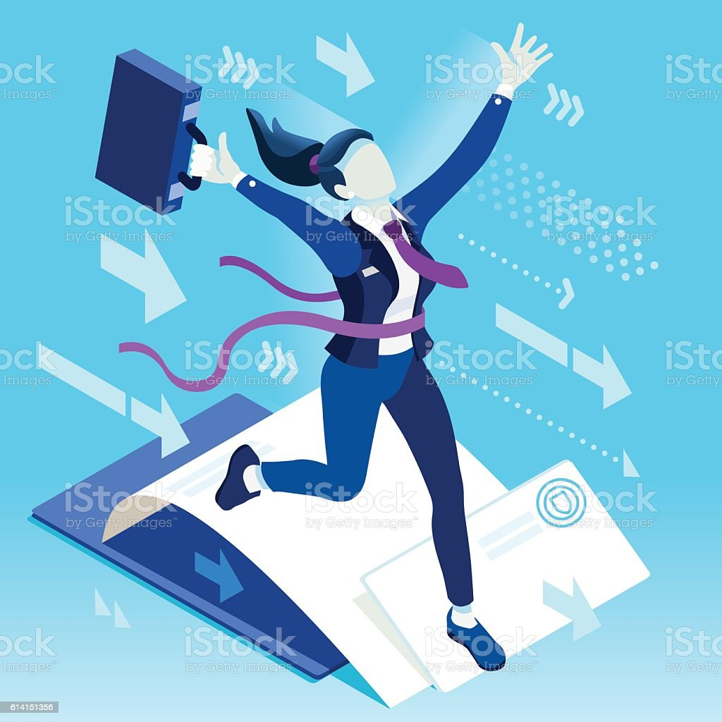ambitious business change career ambitions vector concept stock ambitious business change 87 career ambitions vector concept royalty stock vector art