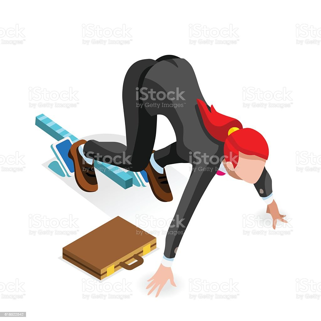 ambitious business change career ambitions vector concept stock 1 credit
