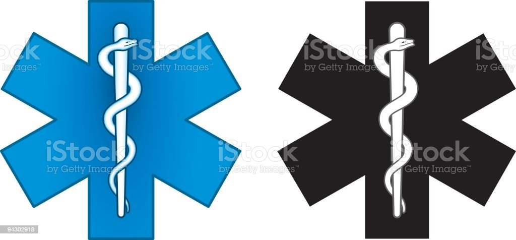 Ambulance symbol royalty-free stock vector art