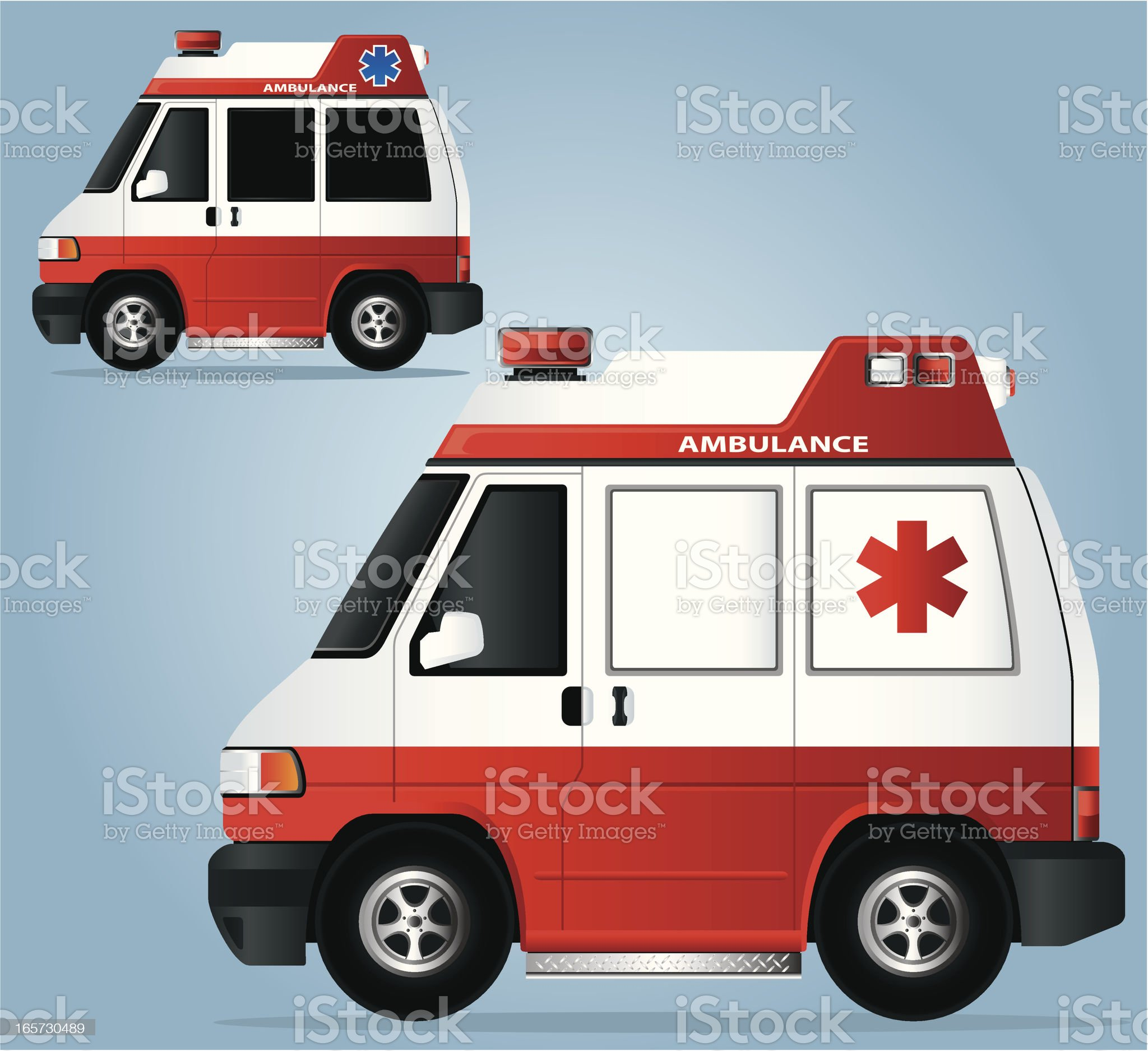 Ambulance royalty-free stock vector art