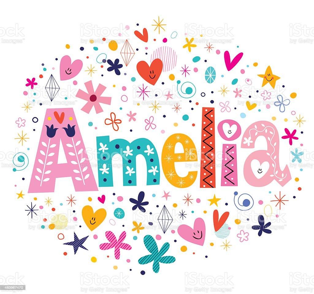 Поздравление амелии