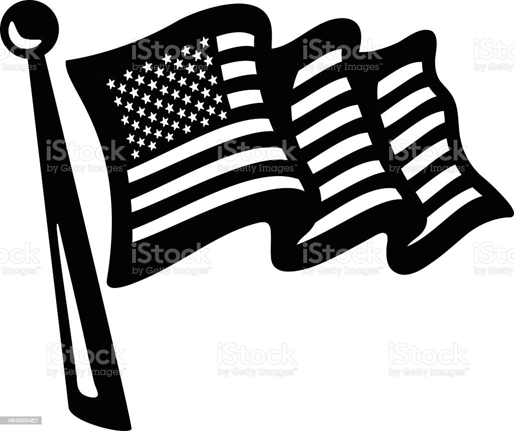 american flag stock vector art 484855462 istock