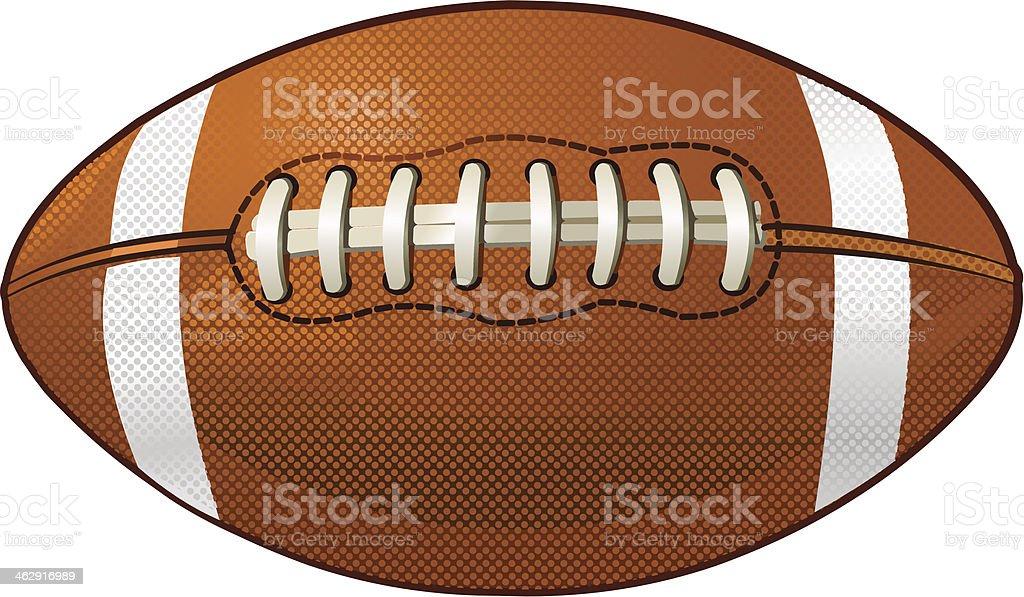 American Footbal vector art illustration