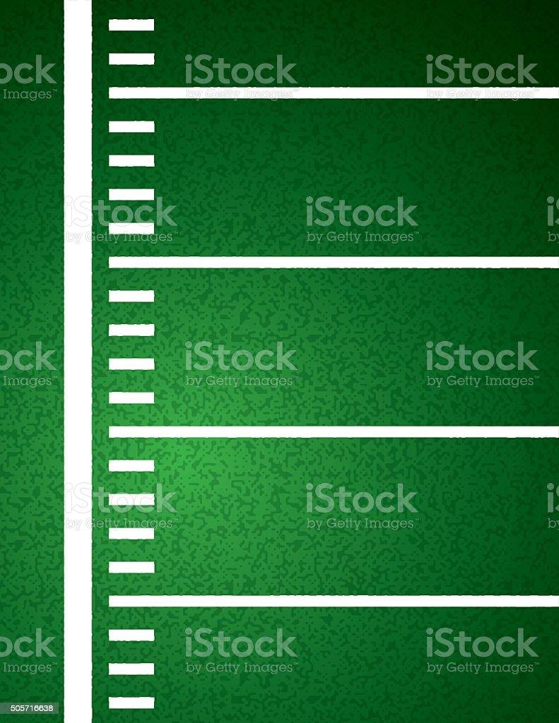 American Football Field Background Illustration vector art illustration