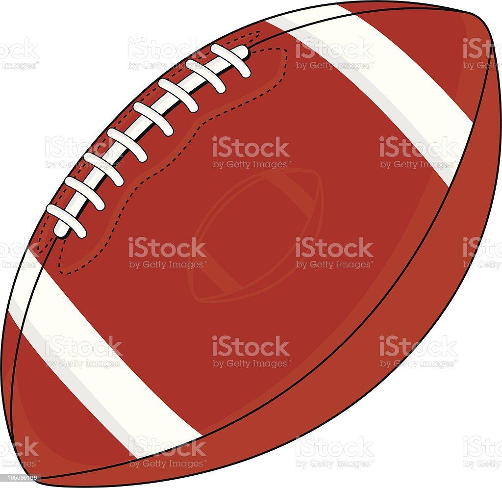 American Football Graphic vector art illustration