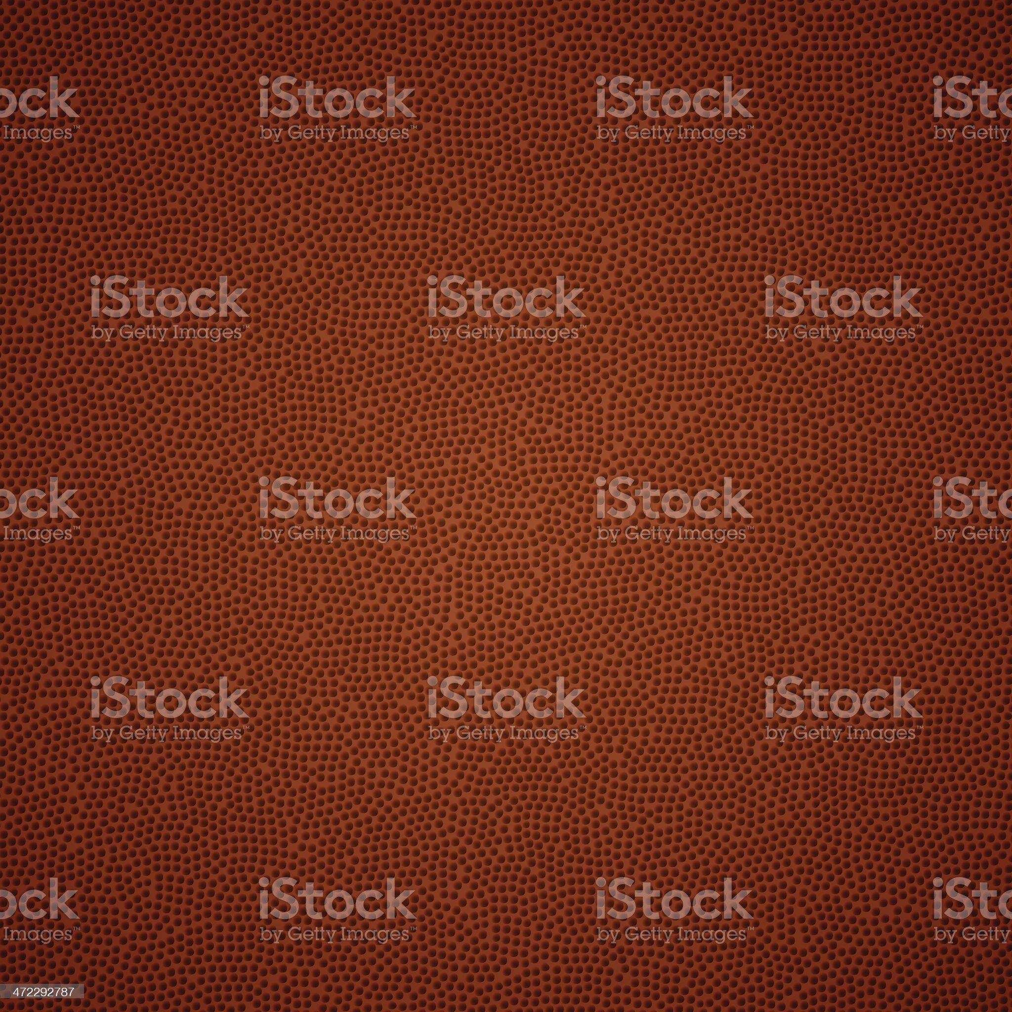 American Football Texture royalty-free stock vector art