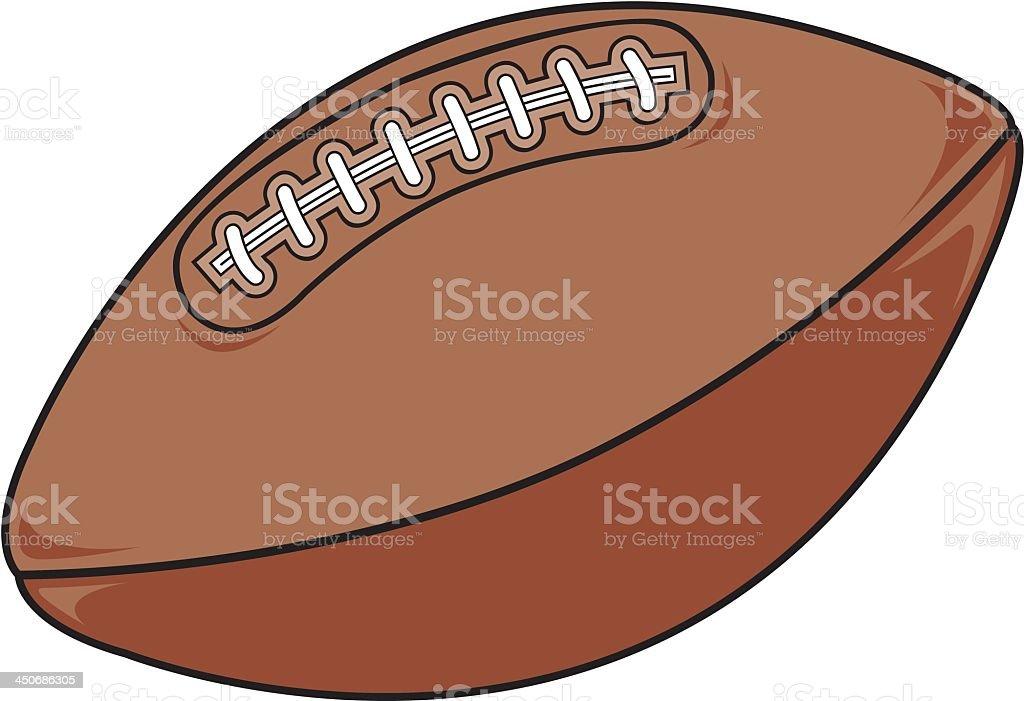 American Football. royalty-free stock vector art