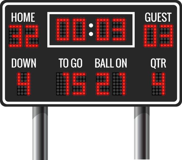 Stadium Lights Svg: Football Scoreboard Clip Art, Vector Images