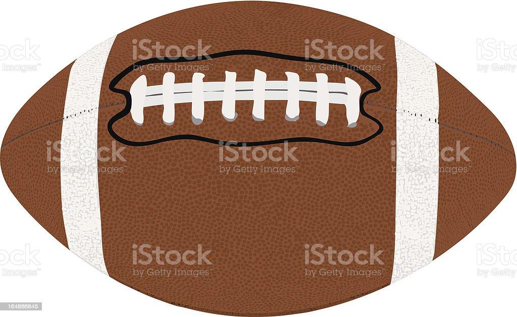 American Football vector royalty-free stock vector art