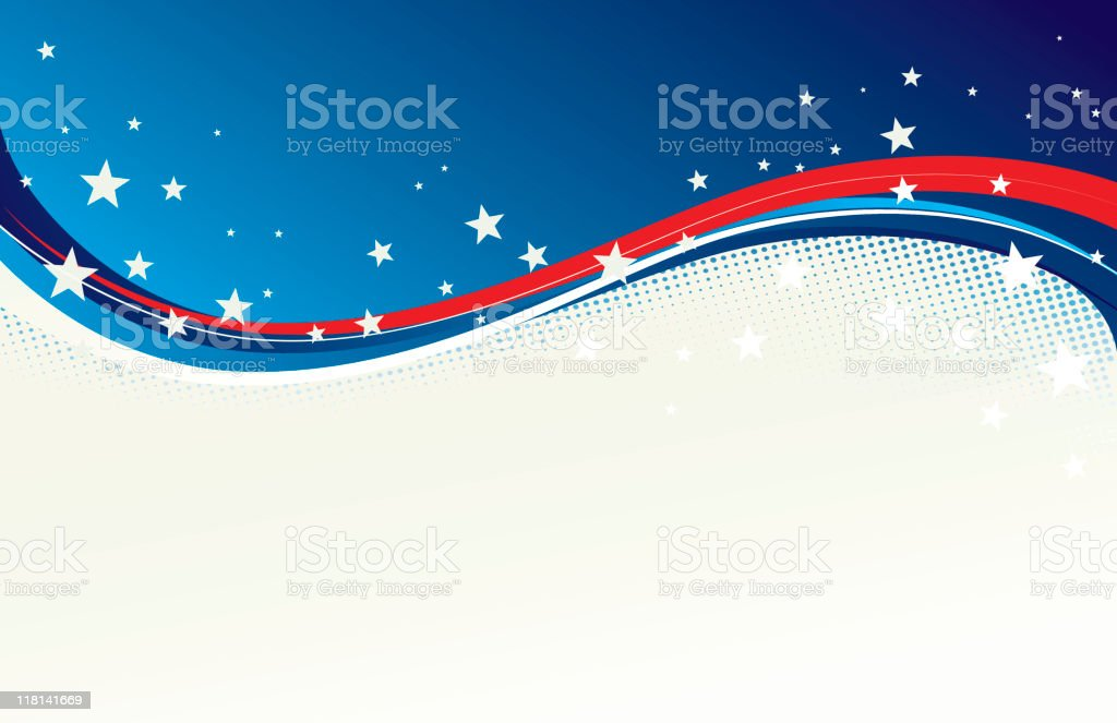 American independence royalty-free stock vector art