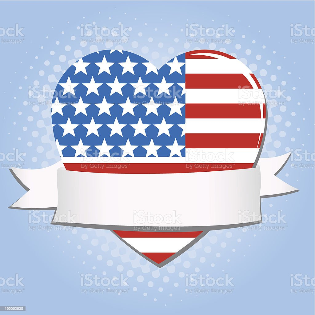 American love royalty-free stock vector art